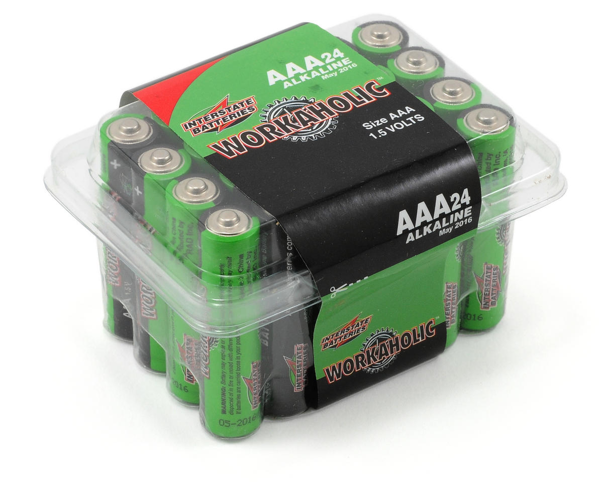 Interstate Batteries AAA Alkaline Batteries (24)