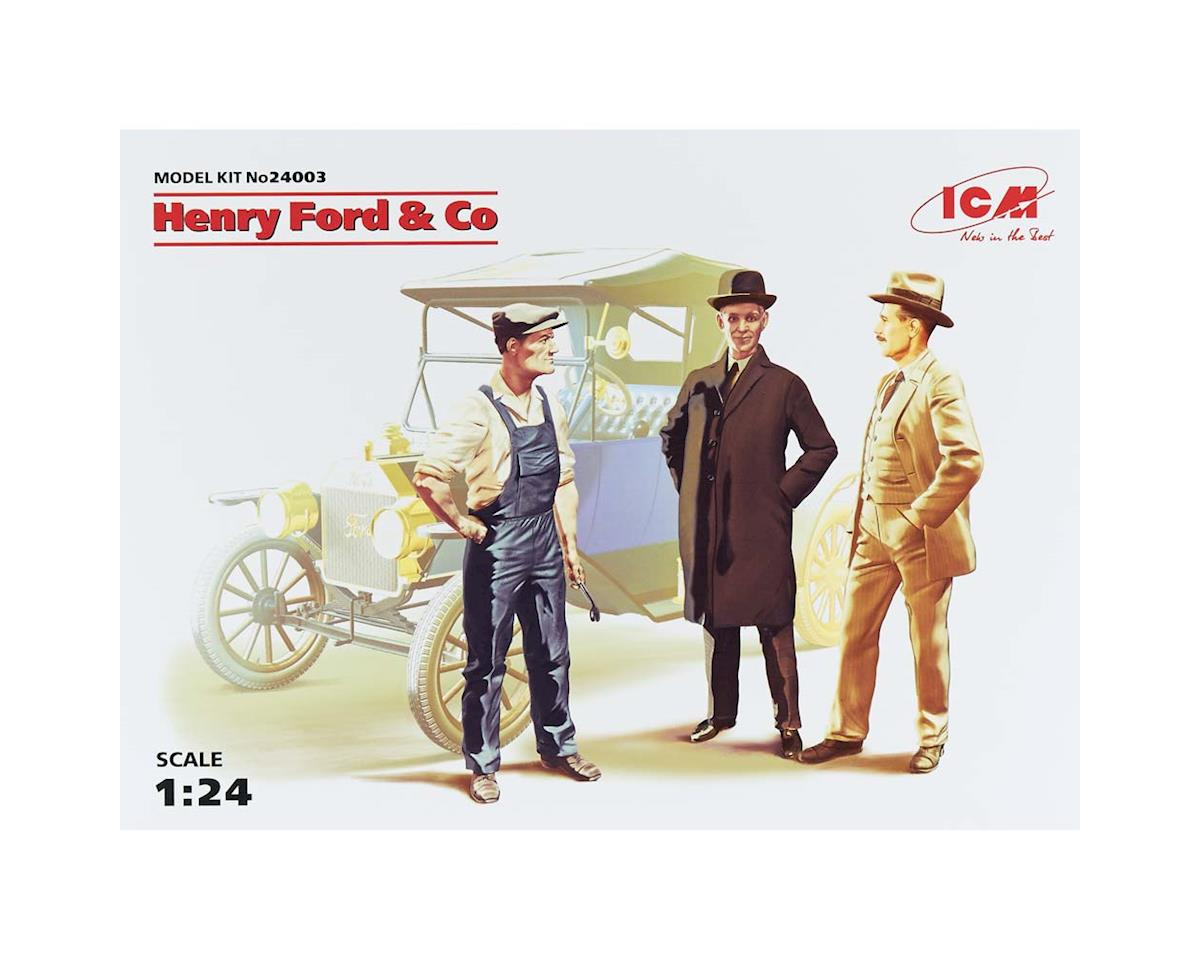 1/24 Henry Ford & Company by ICM