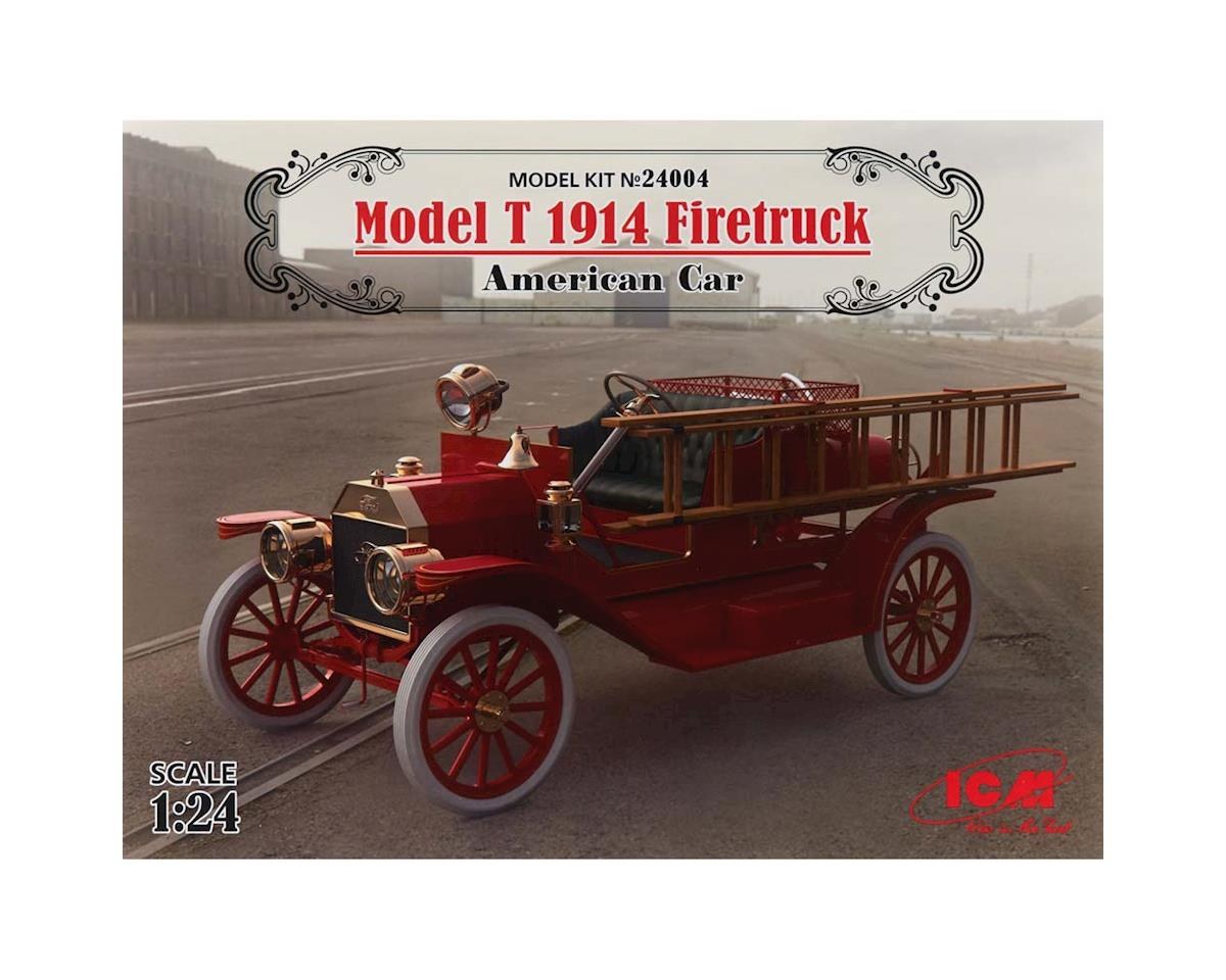 ICM 1/24 Model T 1914 Firetruck American Car