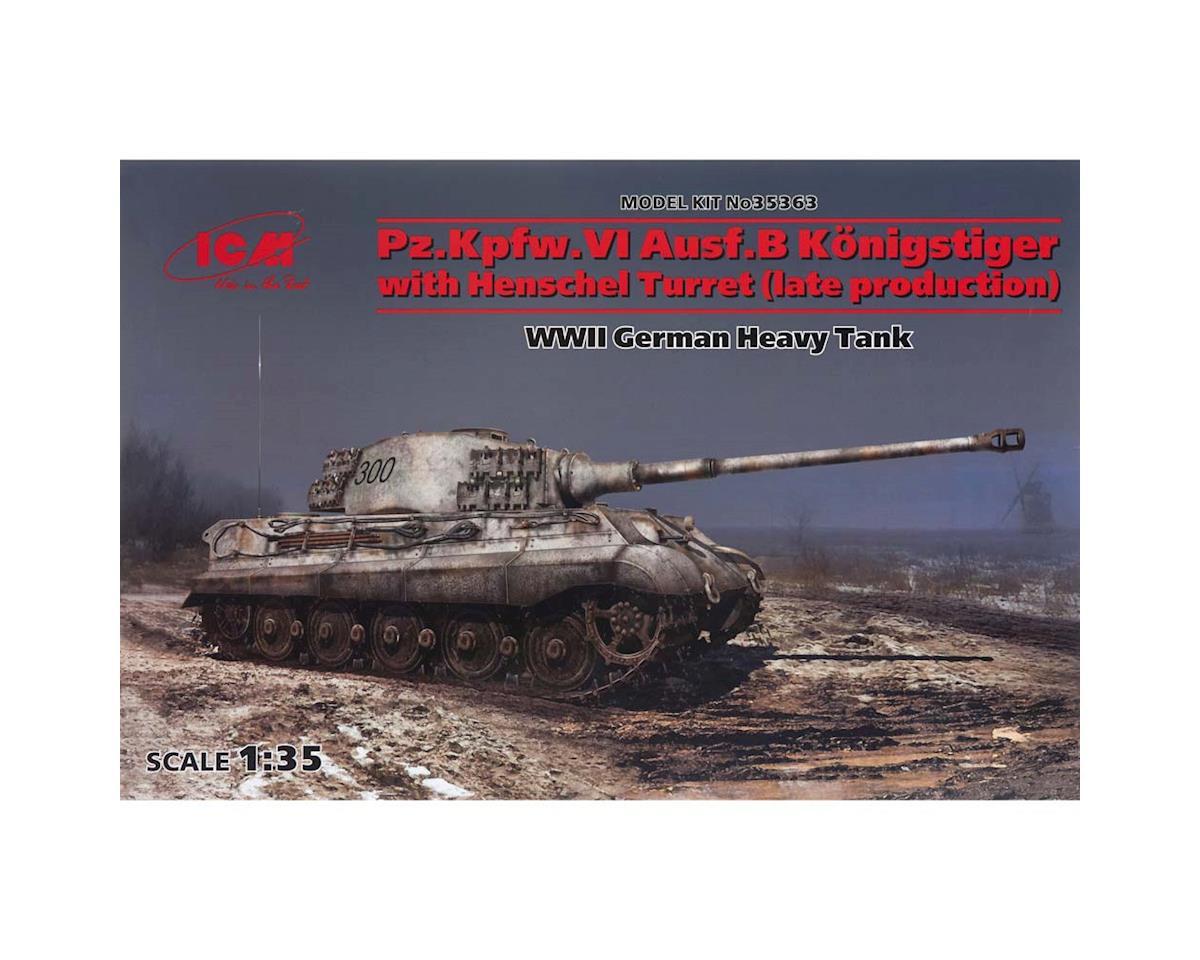 ICM 1/35 PZ.KPFW.VI AUSF.B Konigstiger w/Henshcel