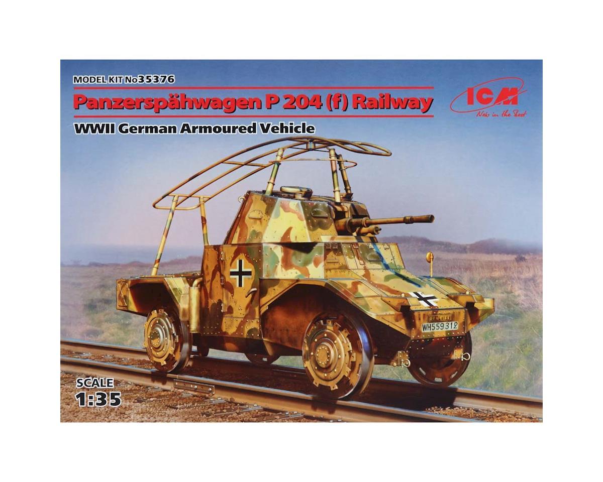 ICM 1/35 Panzerspahwagen P 204 (F) Railway