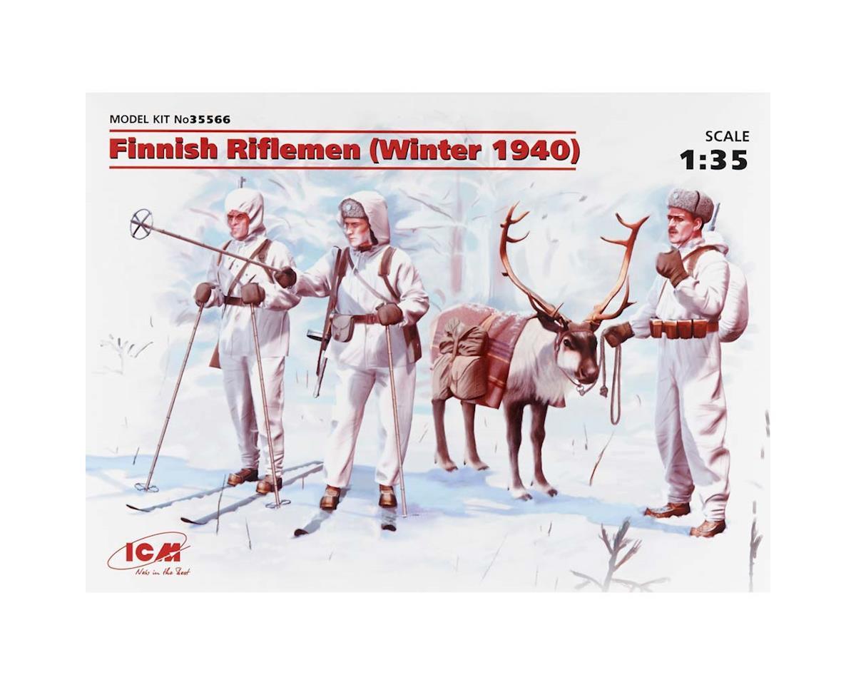 1/35 Finnish Riflemen by ICM