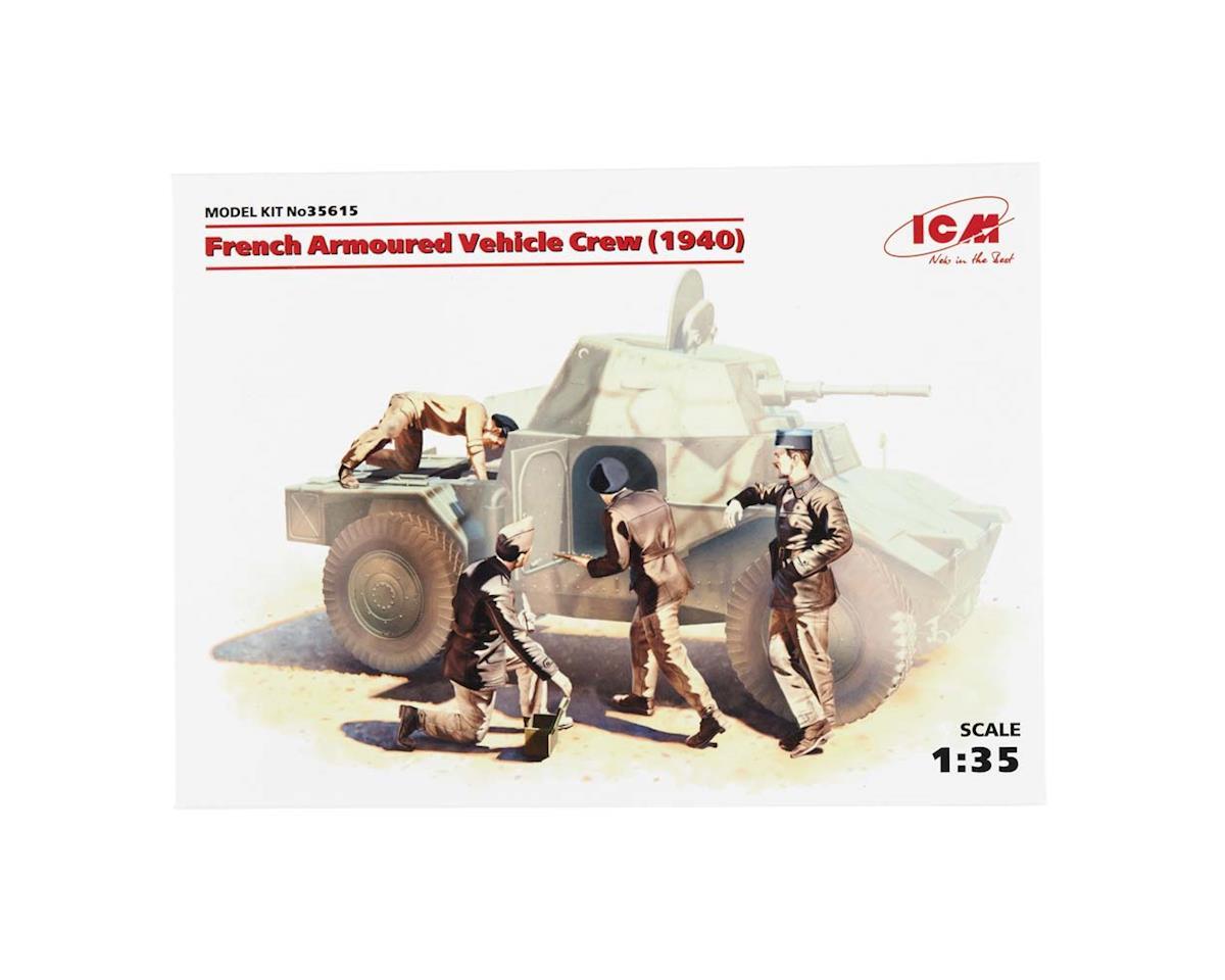 ICM 1/35 French Armor Crew 1940