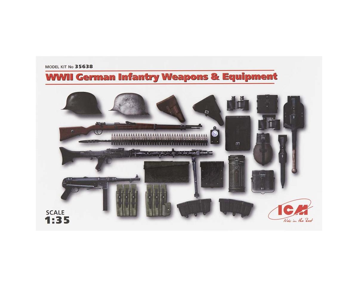 1/35 WWII German Infantry Weapons/Equipment by ICM