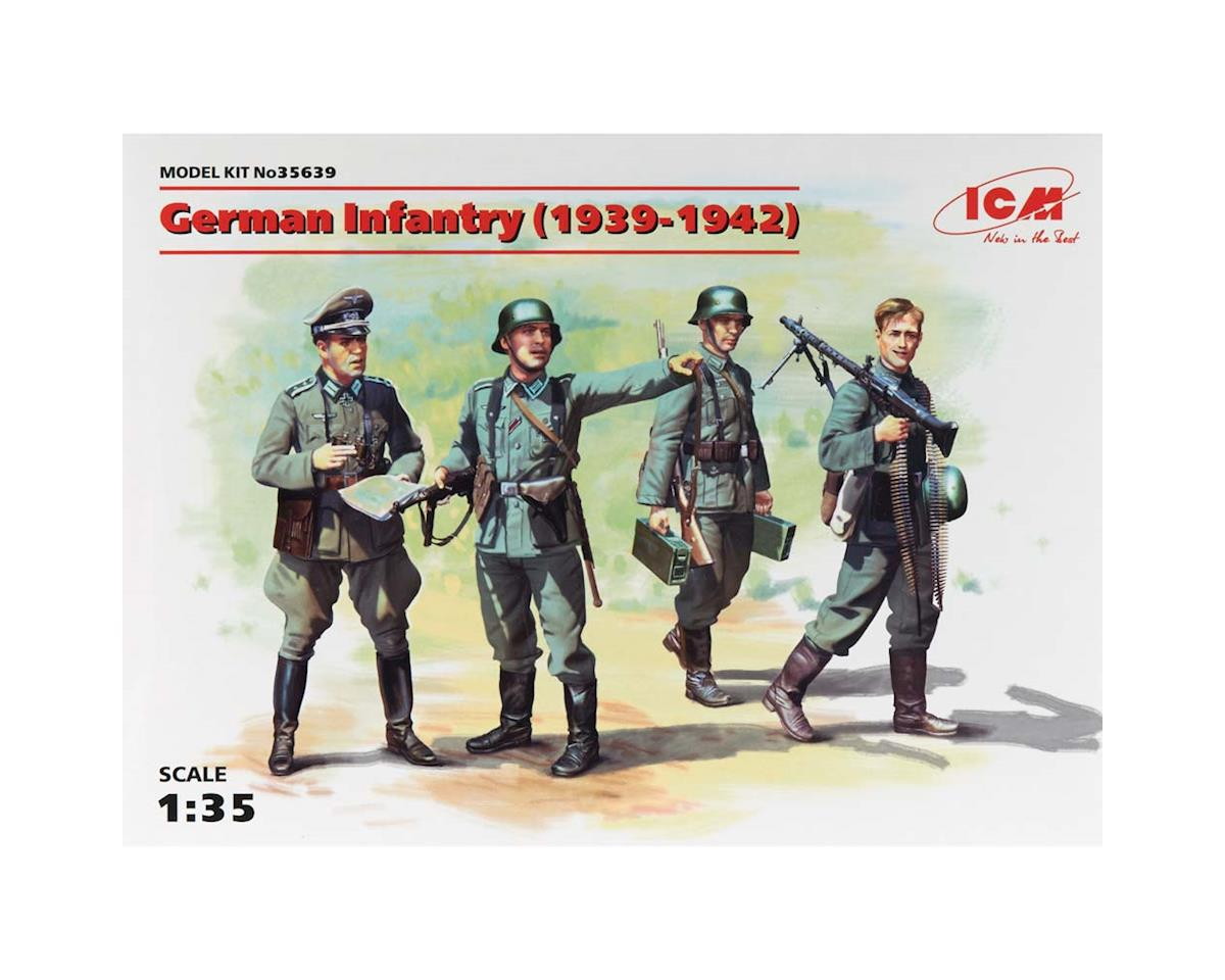 ICM 1/35 German Infantry 1939-1941 (4 Figs)