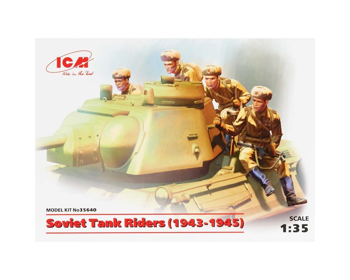 ICM 1/35 Soviet Tank Riders 1943-1945 4 Figs