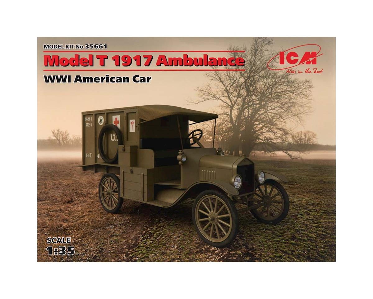 ICM 1/35 Model T 1917 Ambulance WWI American Car