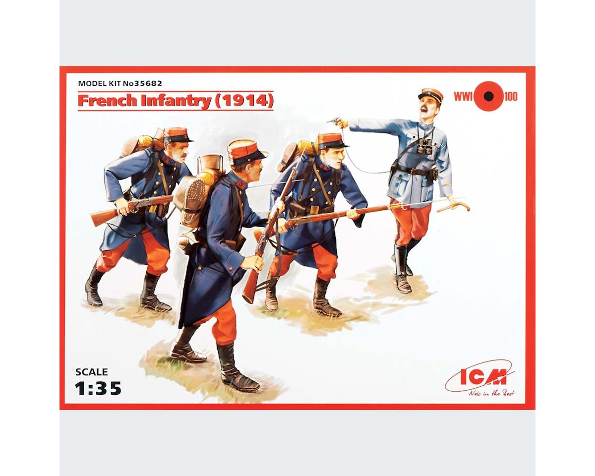 ICM 1/35 French Infantry 1914