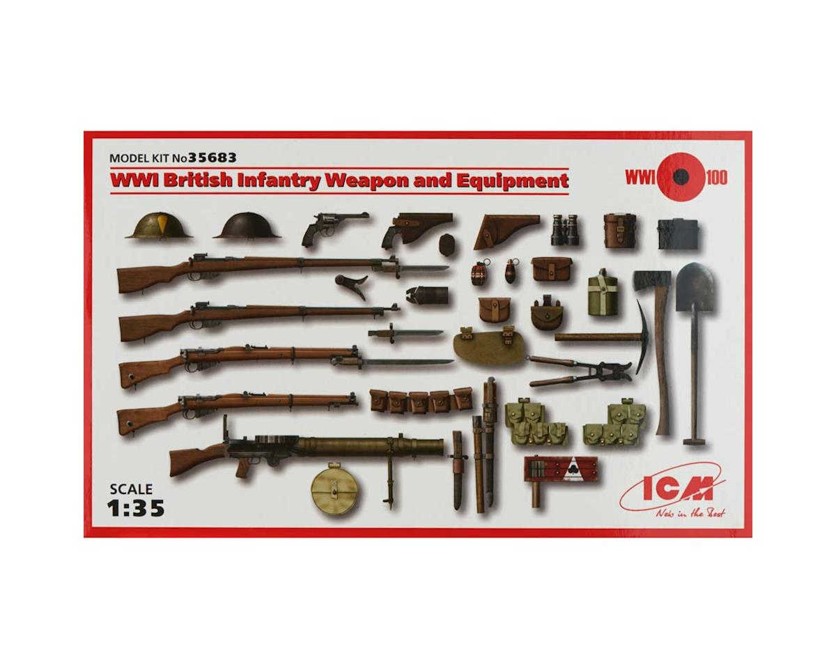 1/35 WWI British Infantry Weapon/Equipment by ICM