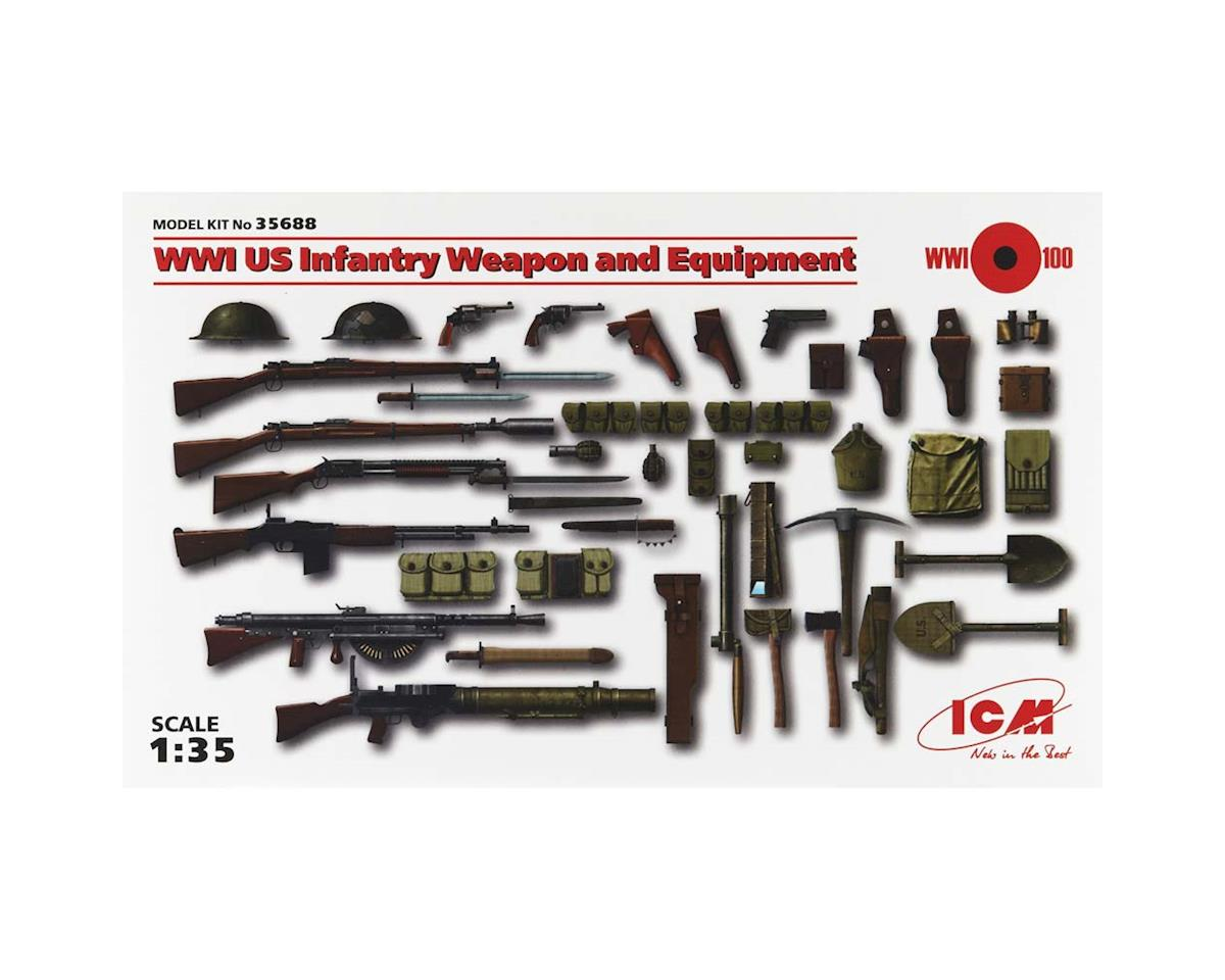 ICM 1/35 WWI US Infantry Weapon/Equipment