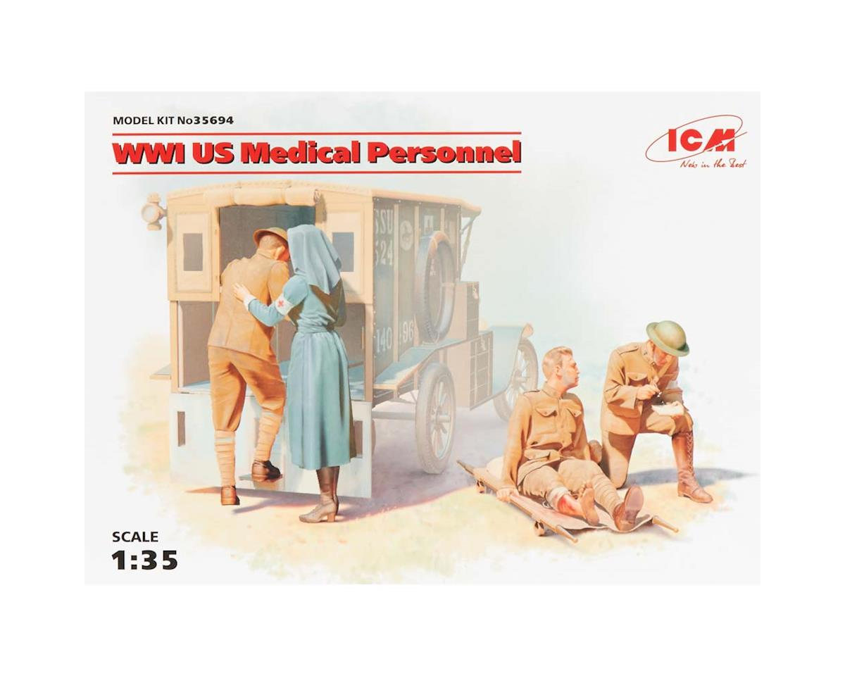 1/35 WWI US Medical Personnel