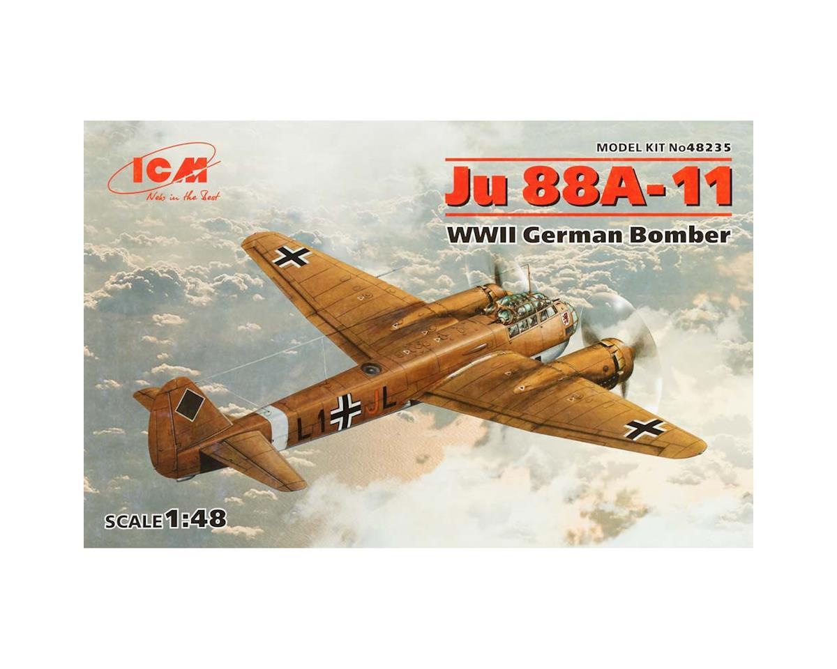 ICM 1/48 JU 88A-11-WWII German Bomber
