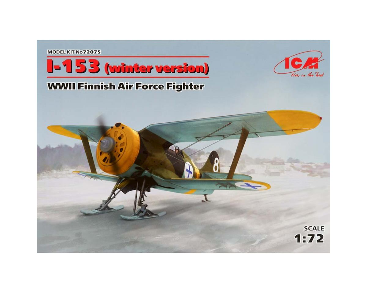 ICM 1/72 I-153-WWII Finnish Air Force Fighter Wntr