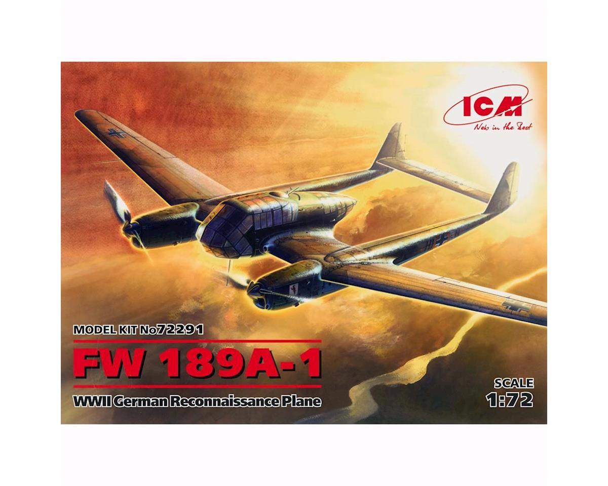 1/72 FW 189A-1 WWII German Reconnaissance Plan