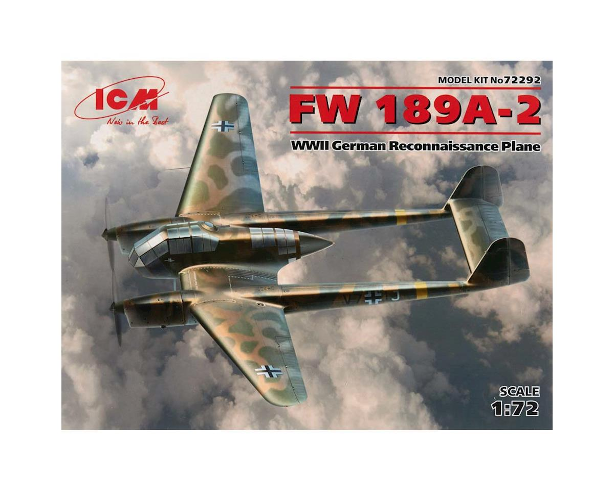1/72 FW 189A-2 WWII German Reconnaissance Plan