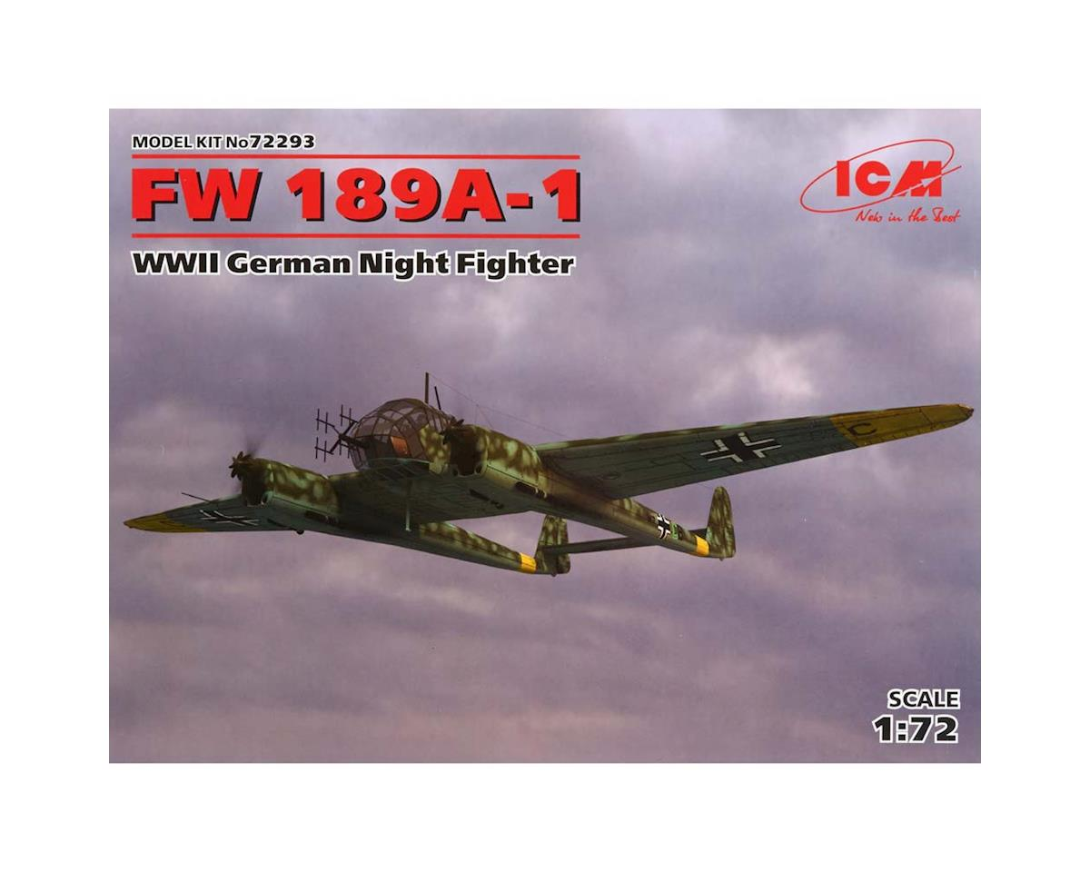 1/72 FW 189A-1 WWII German Night Fighter