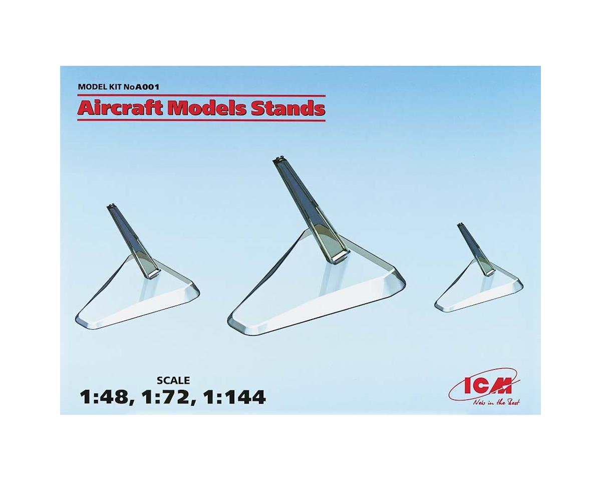 ICM Aircraft Model Stand 3pcs 1/144 1/72 1/48