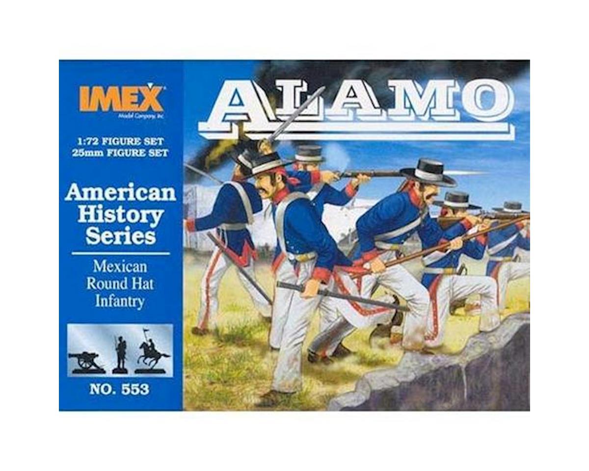 1/72 Round Hat Infantry Alamo