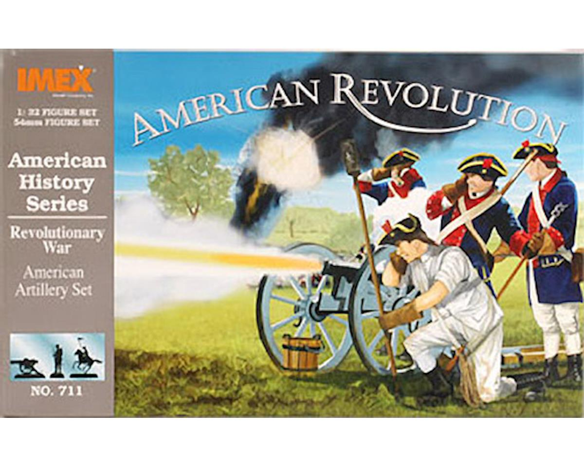 711 1/32 American Artillery Rev War 54mm