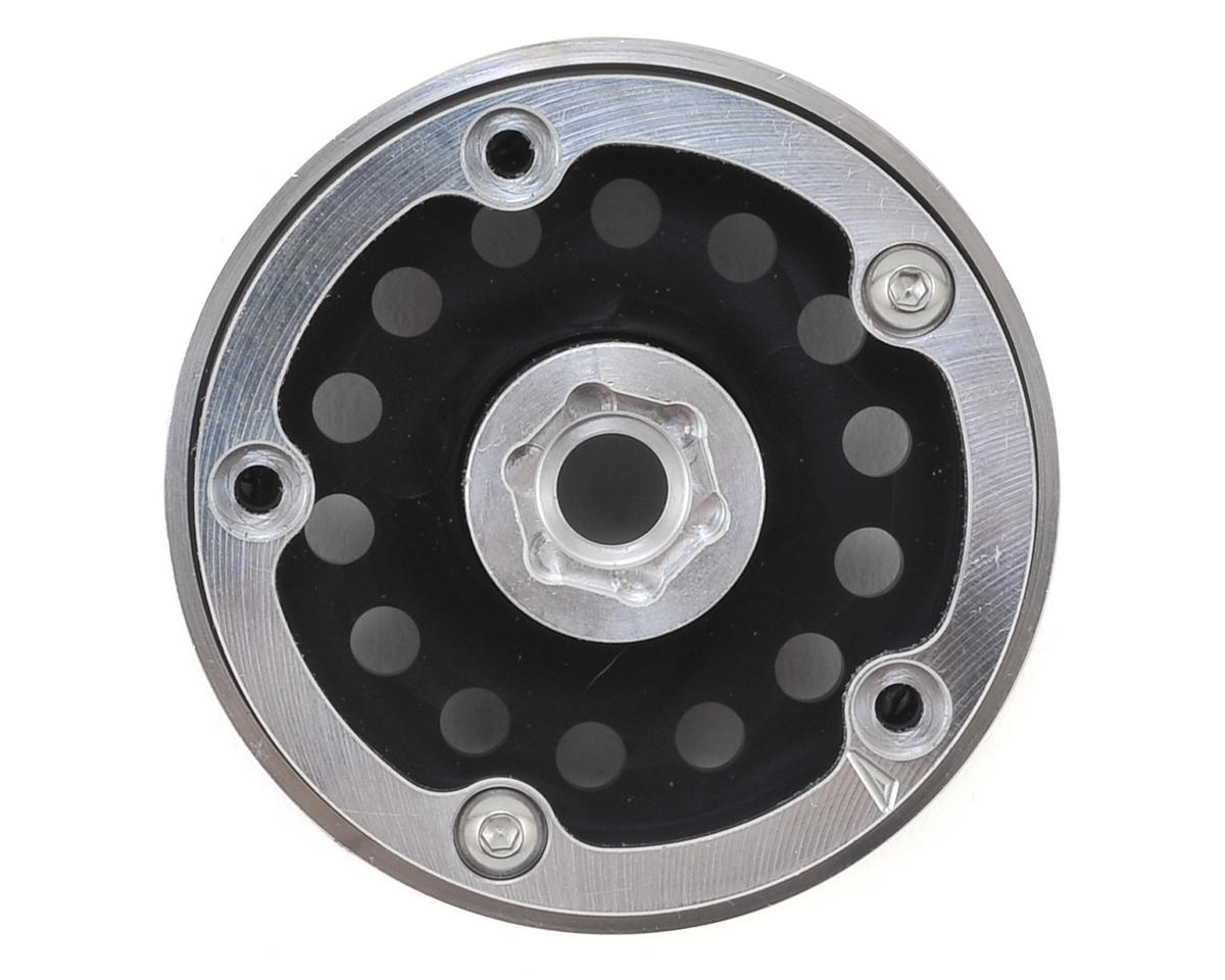 Incision Method 1.9 MR307 Aluminum Beadlock Wheels (2) (Black)