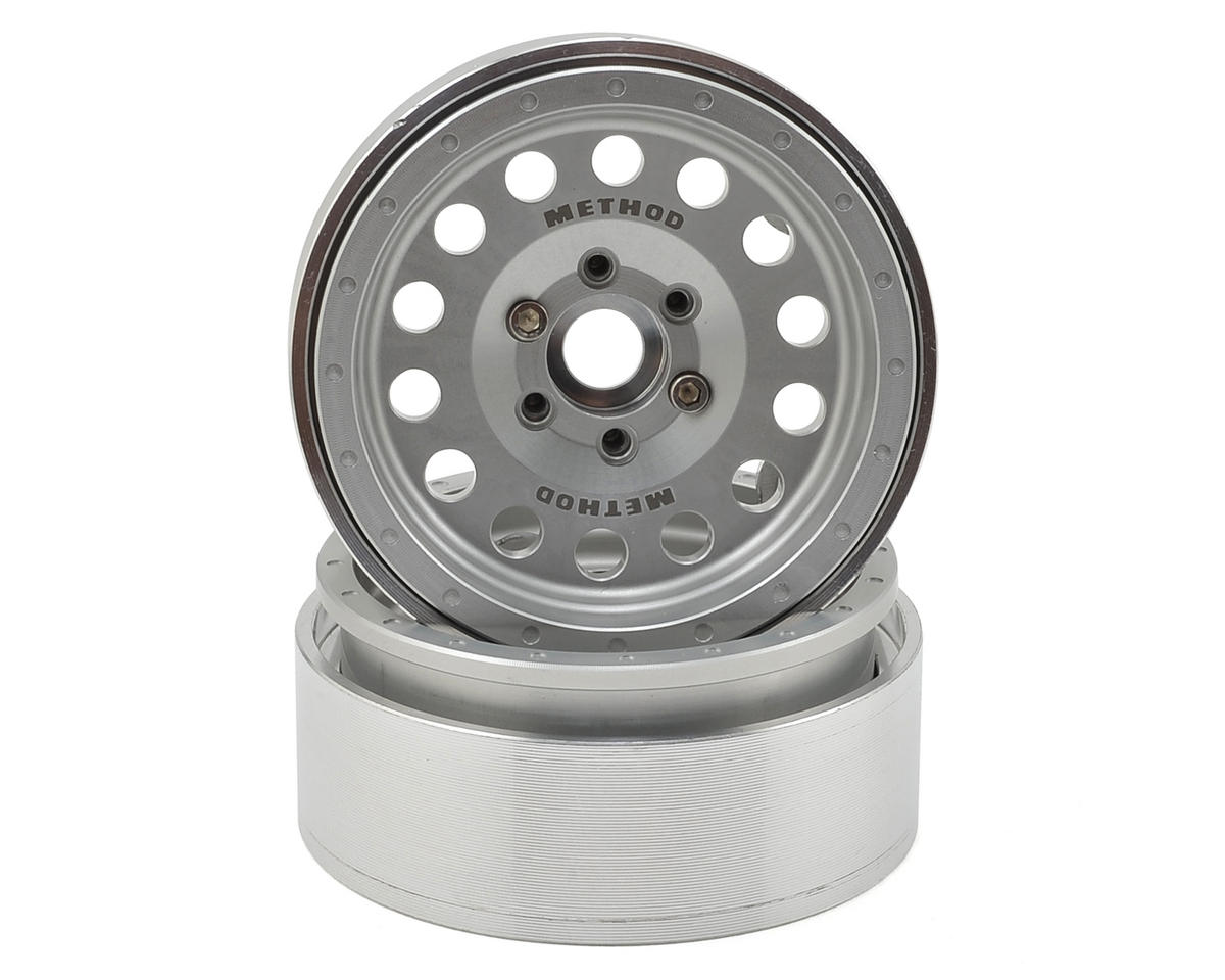 Method 1.9 MR307 Aluminum Beadlock Wheels (2) (Clear) by Incision
