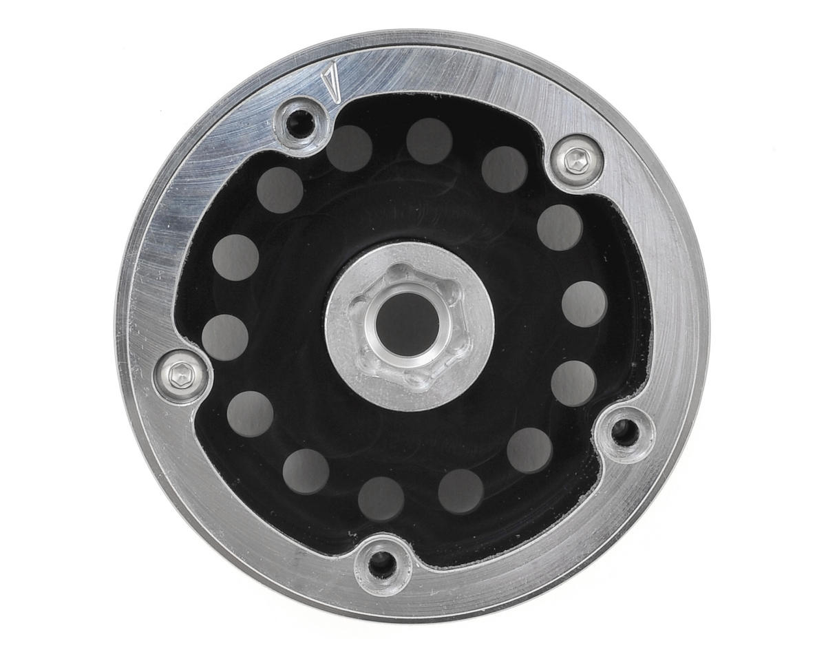 Incision Method MR307 2.2 Aluminum Beadlock Wheels (2) (Black)