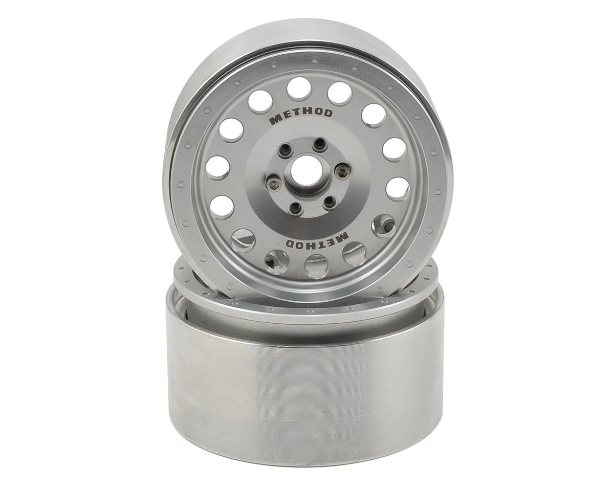 Method MR307 2.2 Aluminum Beadlock Wheels (2) (Clear) by Incision