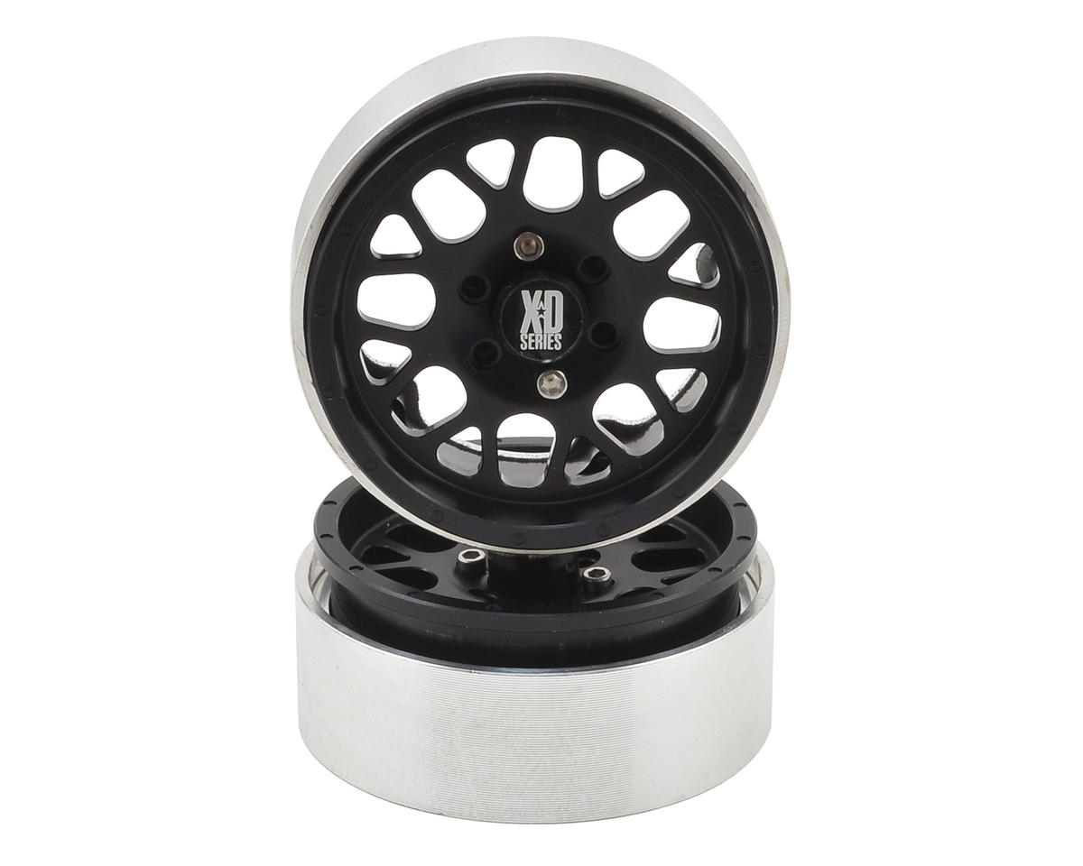 KMC 1.9 XD820 Grenade Wheels (2) (Black) by Incision