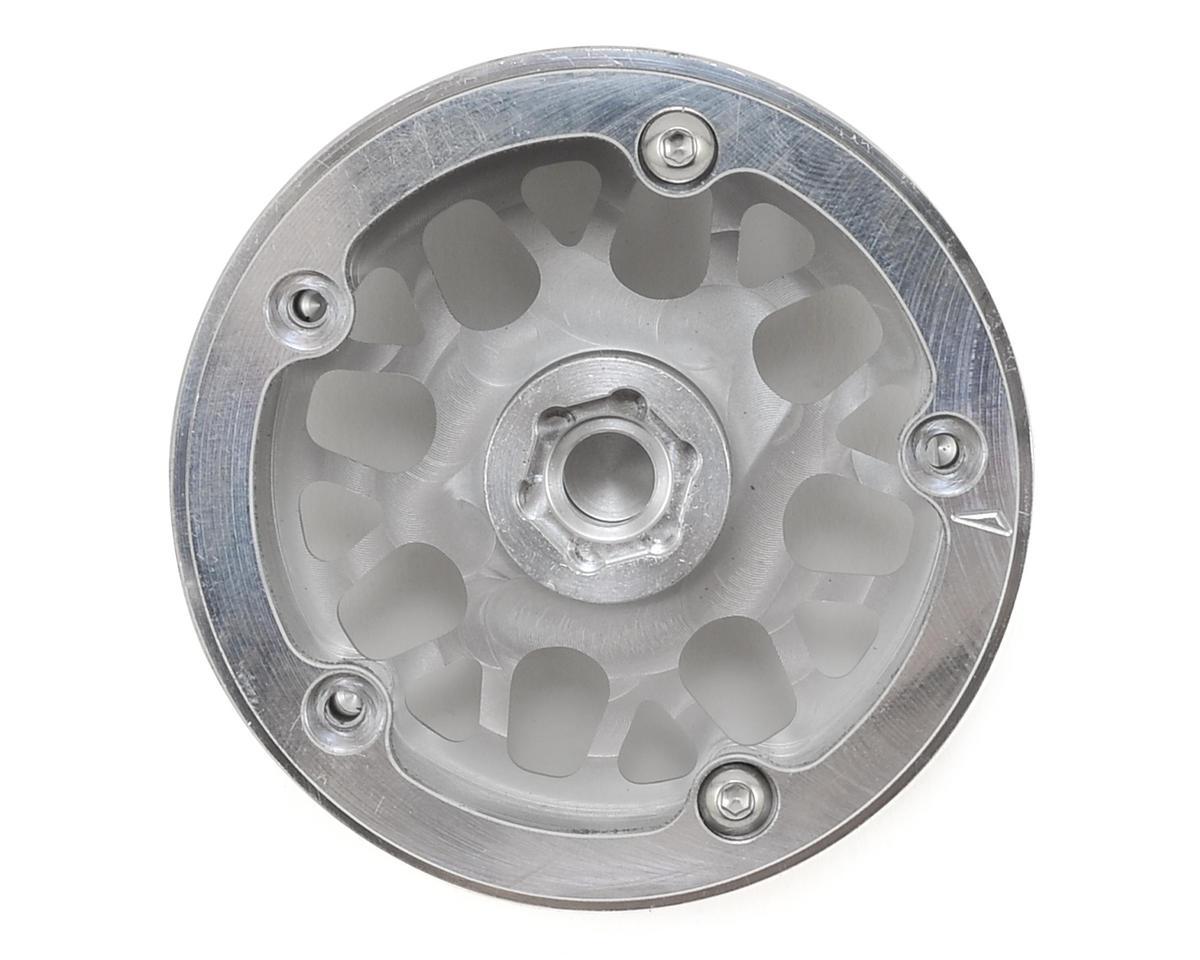 Vanquish Products KMC XD820 Grenade 2.2 Aluminum Beadlock Wheels (2) (Clear)