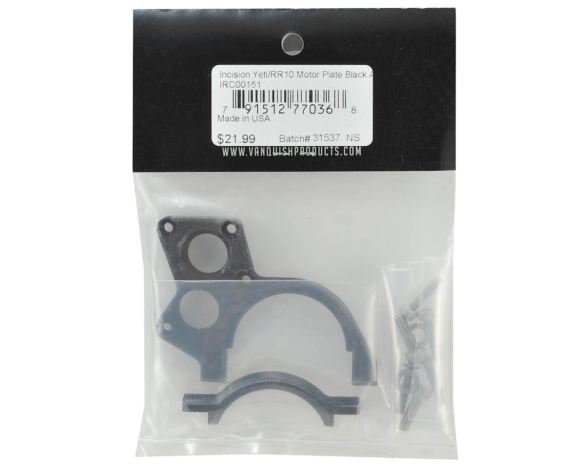 Incision Yeti/RR10 Motor Plate (Black)
