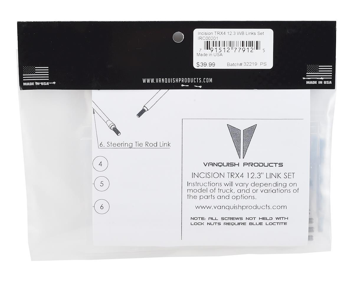 Incision Traxxas TRX-4 12.3 Wheelbase Suspension Links