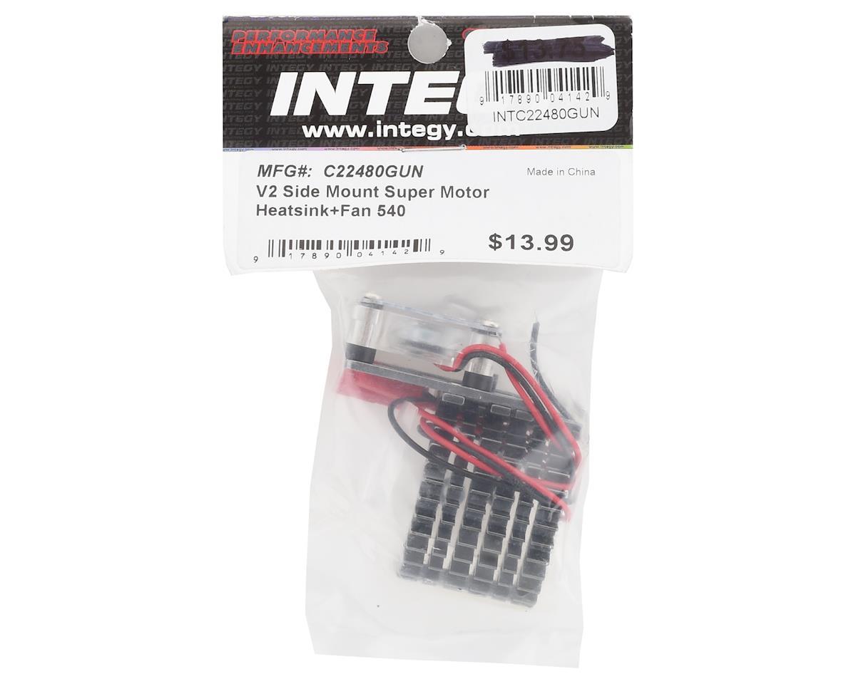 Team Integy Side Mount 540 Motor Heatsink w/Fan (Gunmetal)