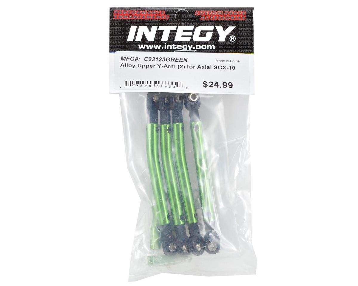 Team Integy Upper Y-Arm Set (Green) (2)