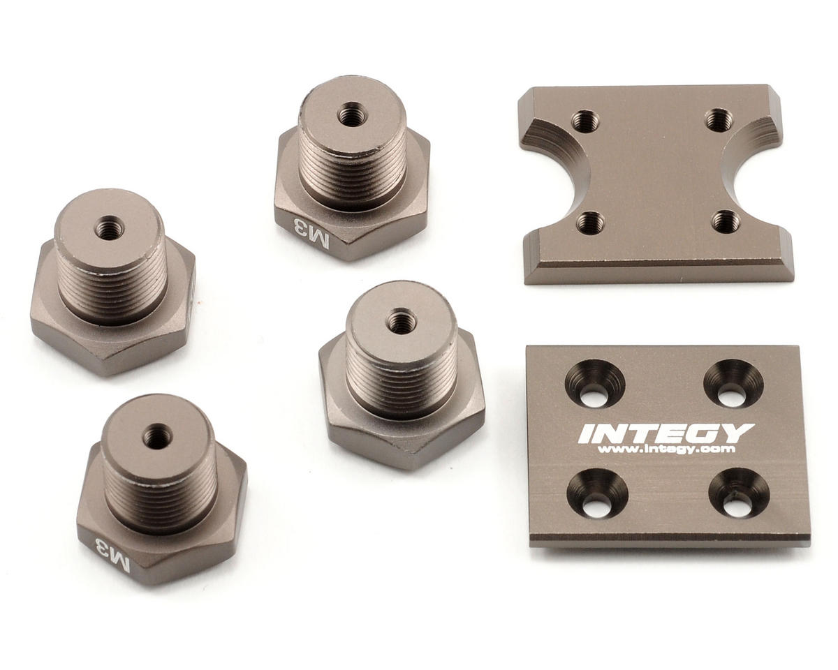 "Team Integy Universal Setup Station ""Type D"" Adapter Set"