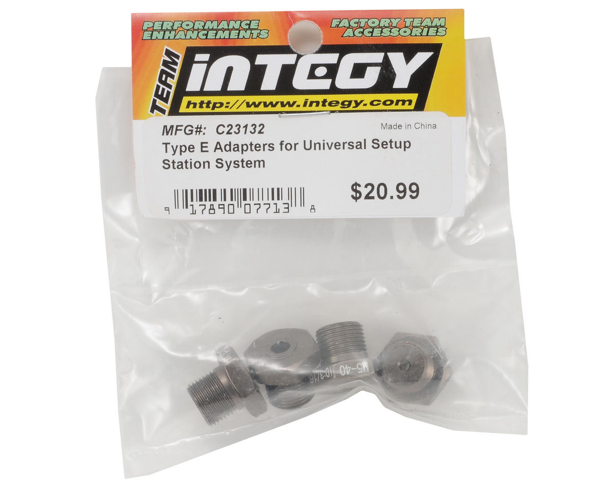 "Team Integy Universal Setup Station ""Type E"" Adapter Set"