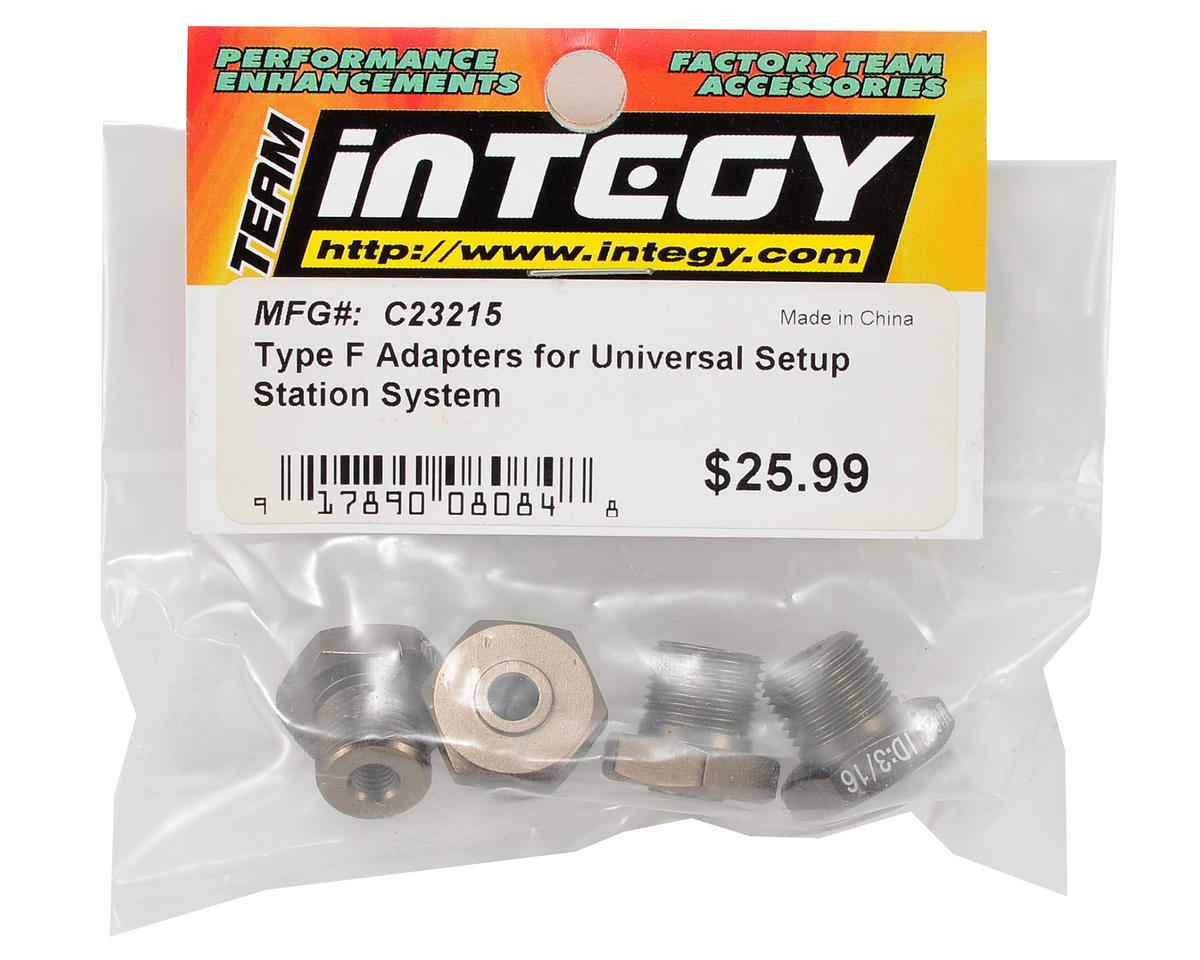 "Team Integy Universal Setup Station ""Type F"" Adapter Set"