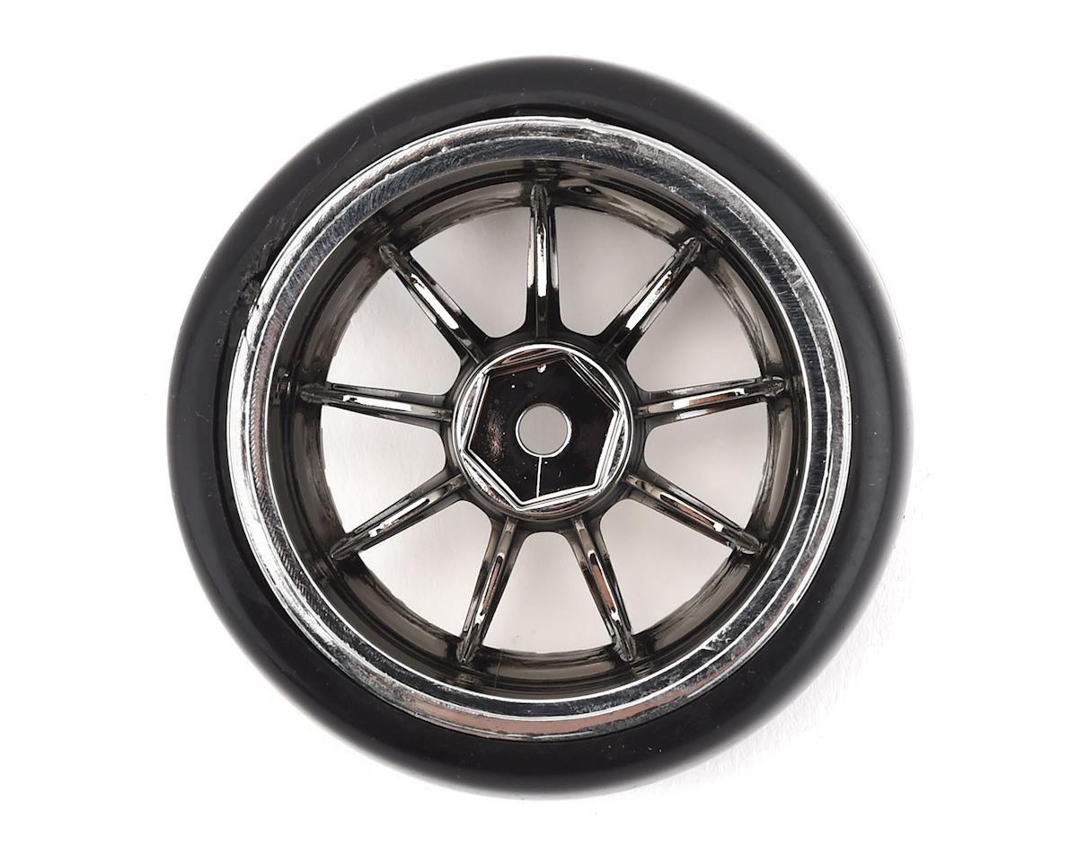Team Integy Type V Drift Wheel & Tire Set (Chrome) (4)