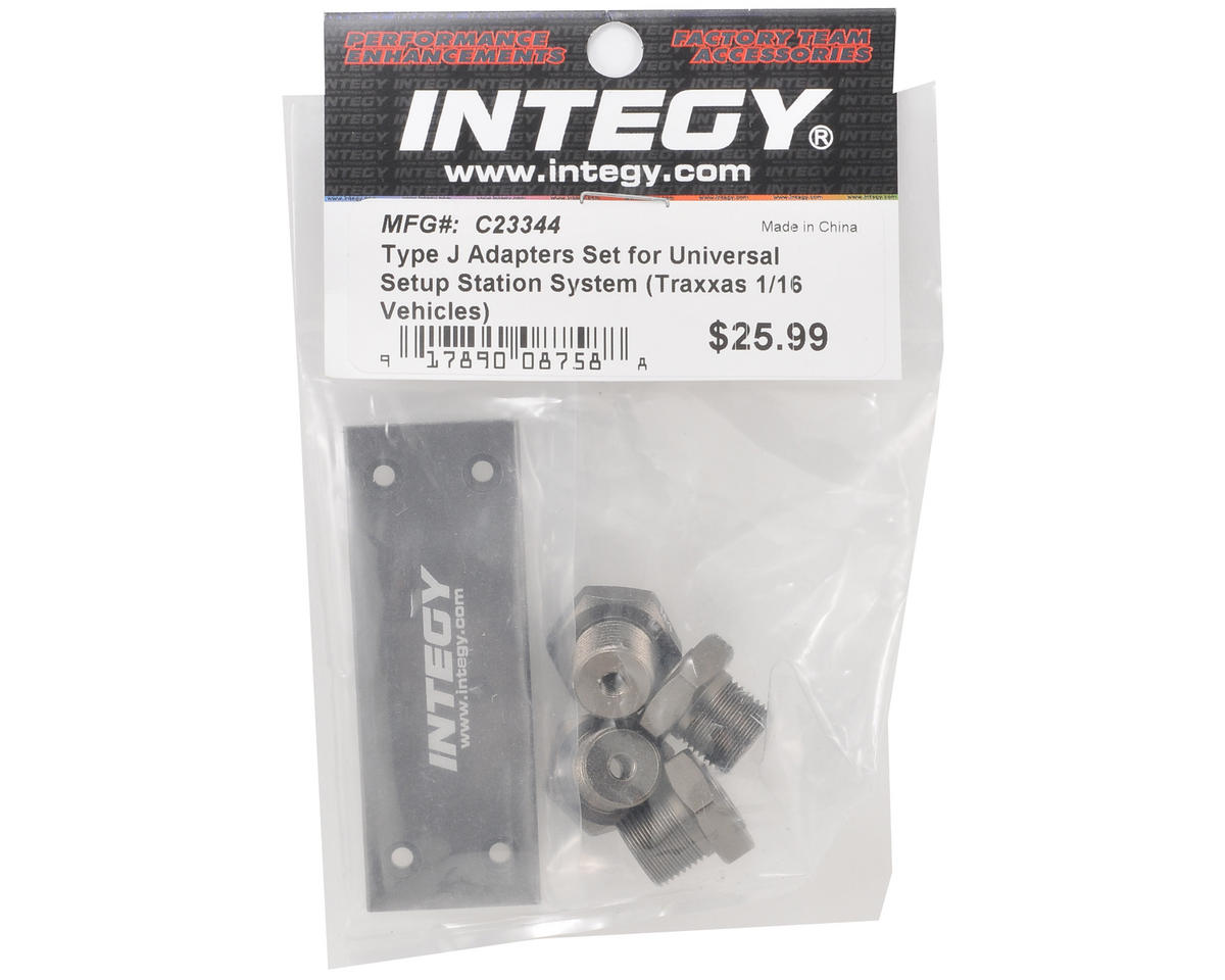 "Team Integy Universal Setup Station ""Type J"" Adapter Set (Traxxas 1/16)"