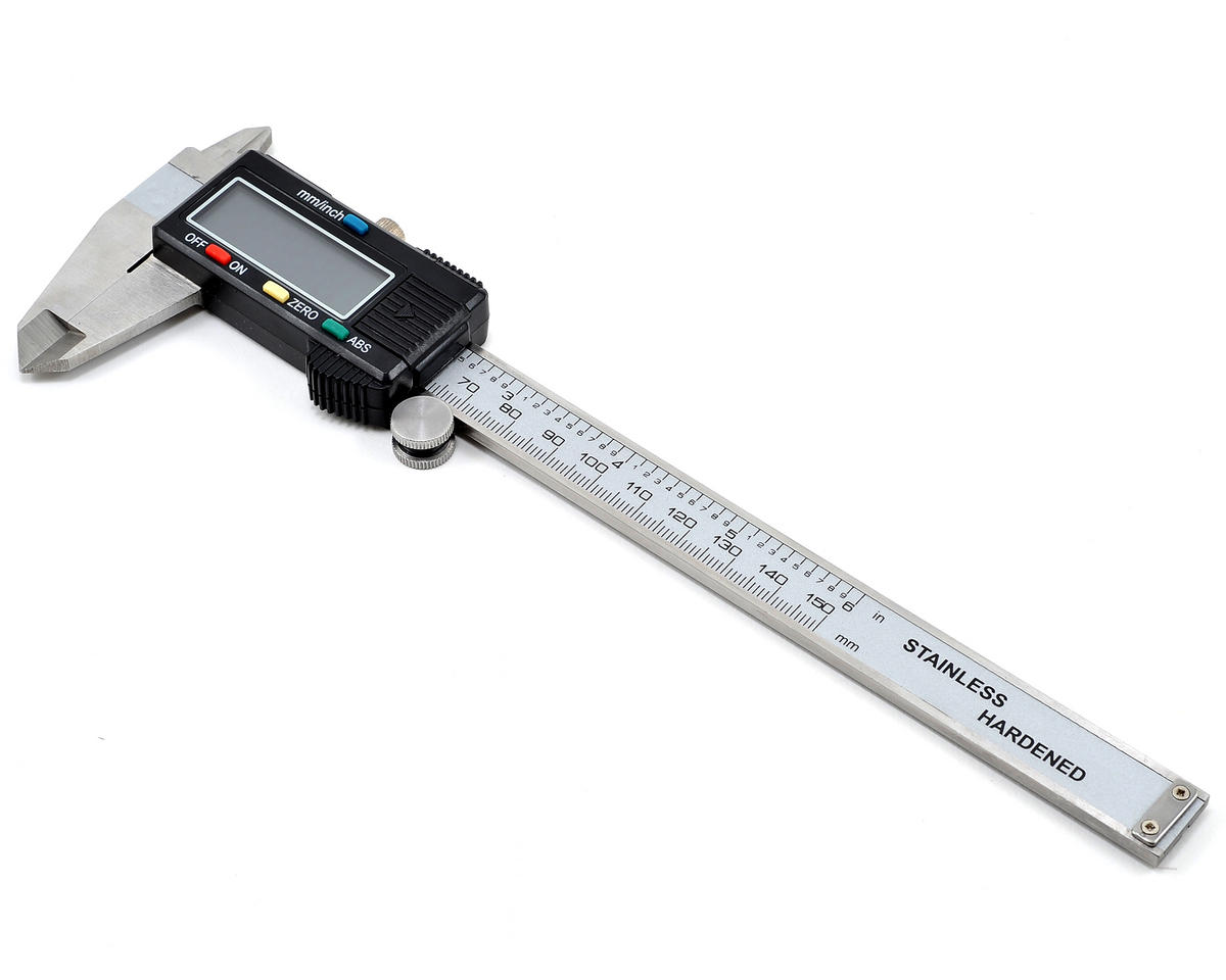 "Team Integy 6"" Digital Caliper w/LCD Display"