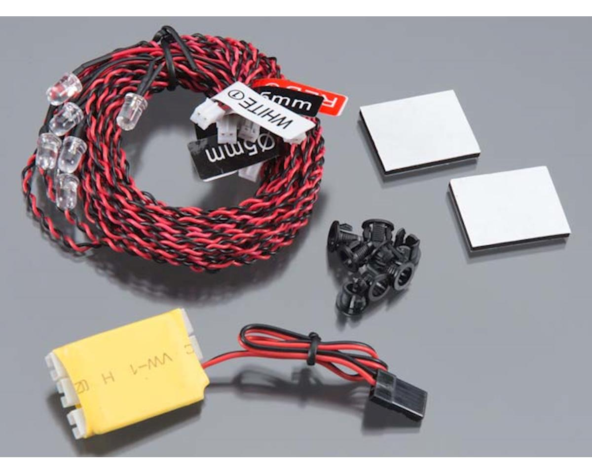 Integy Complete 8 LED Light Kit w// Control Box Module for Airplanes /& Helicopter