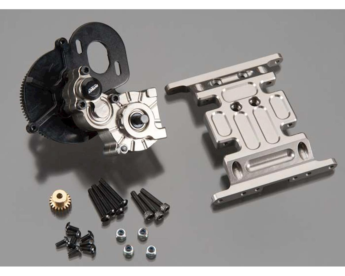 Team Integy C24742GUN Center Main Gearbox w/Metal Gears SCX-10