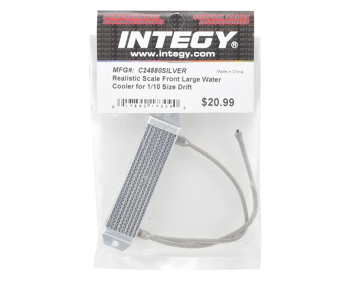 Team Integy Large Aluminum Radiator (Silver)