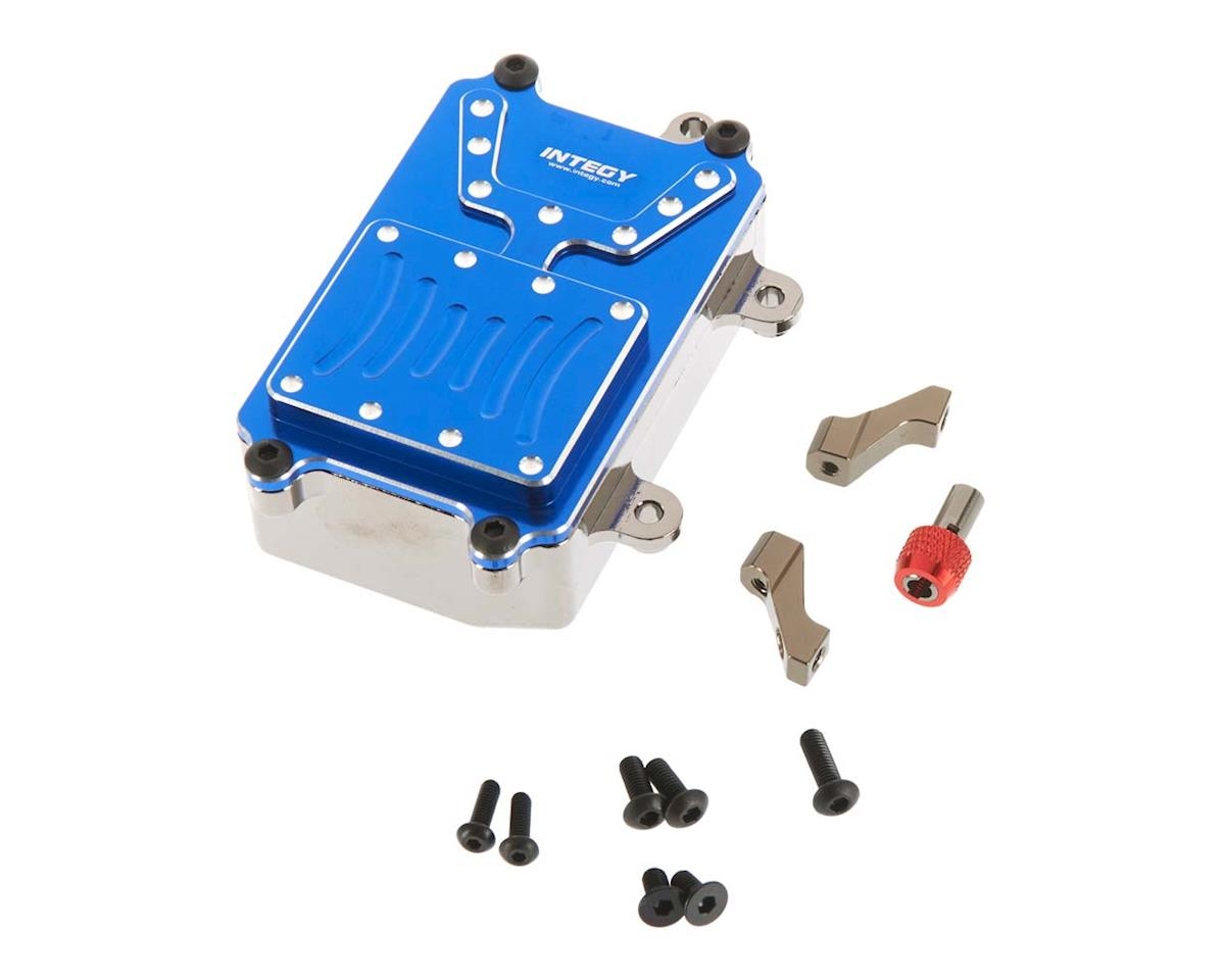 Team Integy C26603BLUE Metal Receiver Box 1/10 SCX-10 Crawler