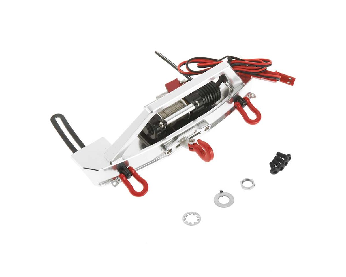 Team Integy High Torque Winch w/Scale Front Bumper SCX