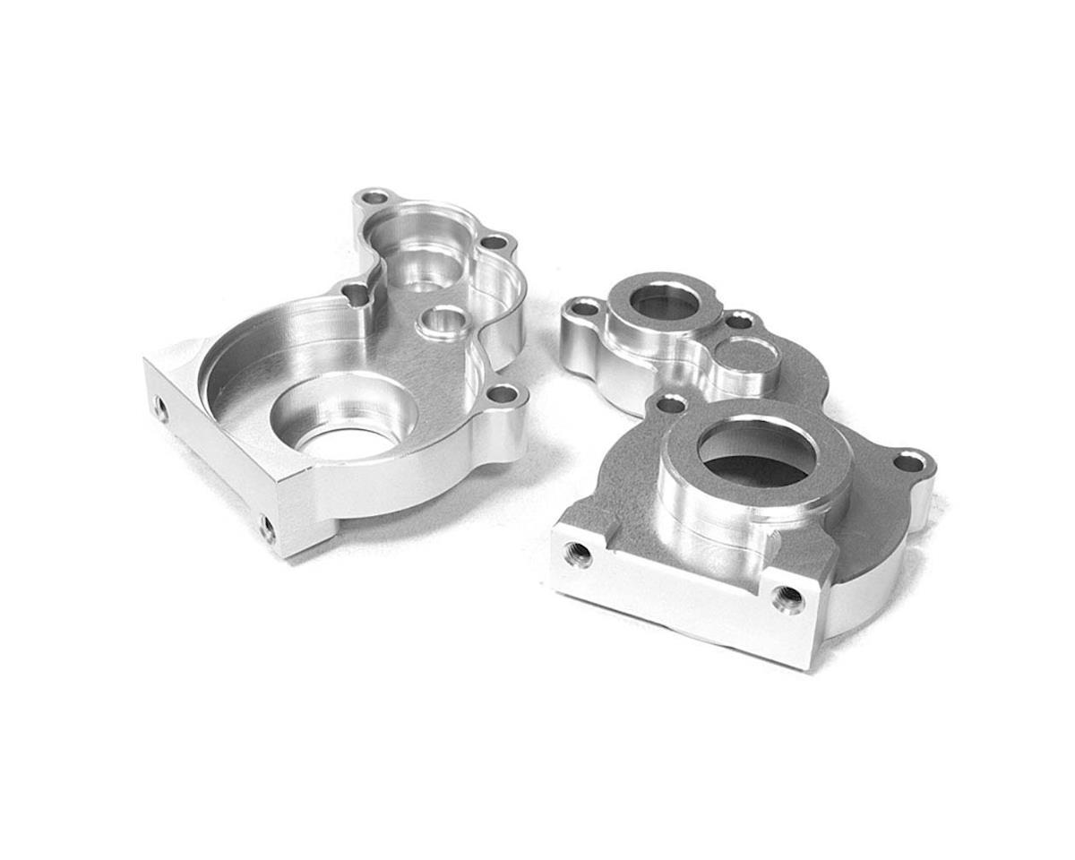 C26638SILVER Center Gearbox Case SCX-10 Dingo/Honcho by Team Integy