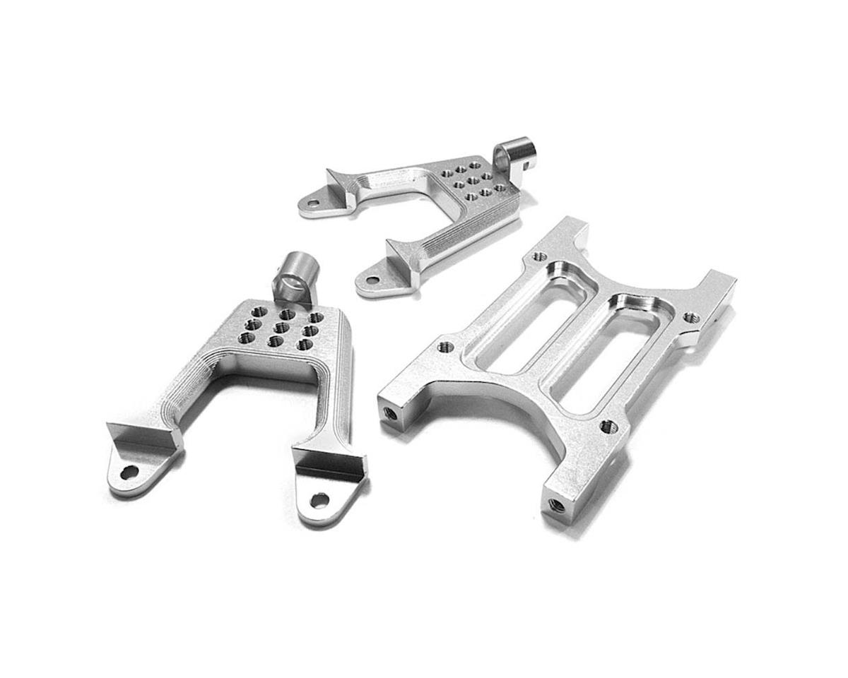 Team Integy C26710SILVER Rear Shock Mount/Cross Brace SCX-10 Dingo