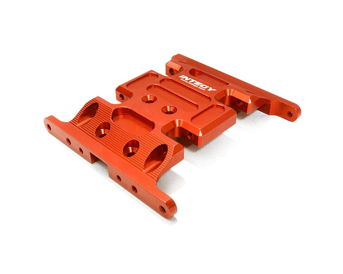 Team Integy C26712RED Center Gear Box Mount Skid Plate 1/10 SCX-10