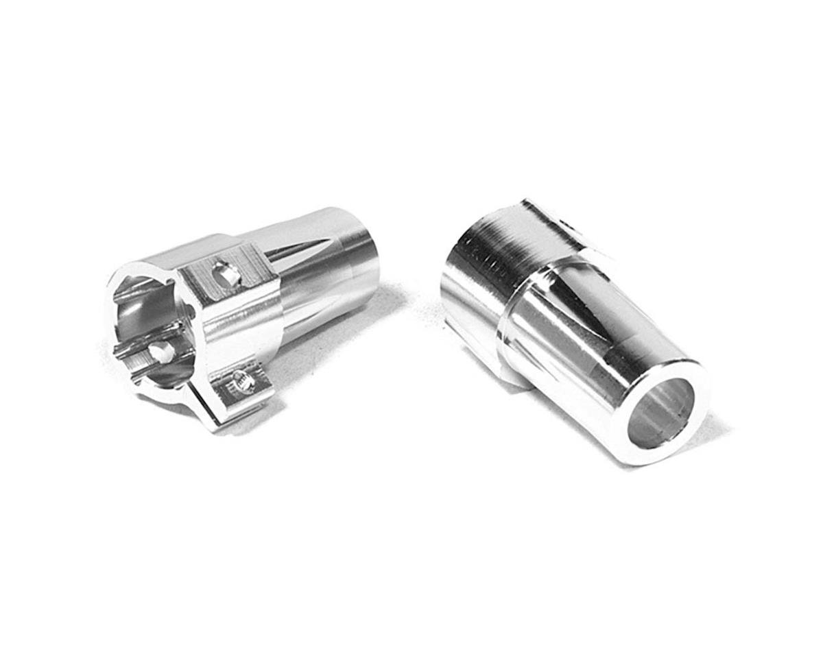 Team Integy C26716SILVER Straight Axle Rear Lock-Out 1/10 SCX-10