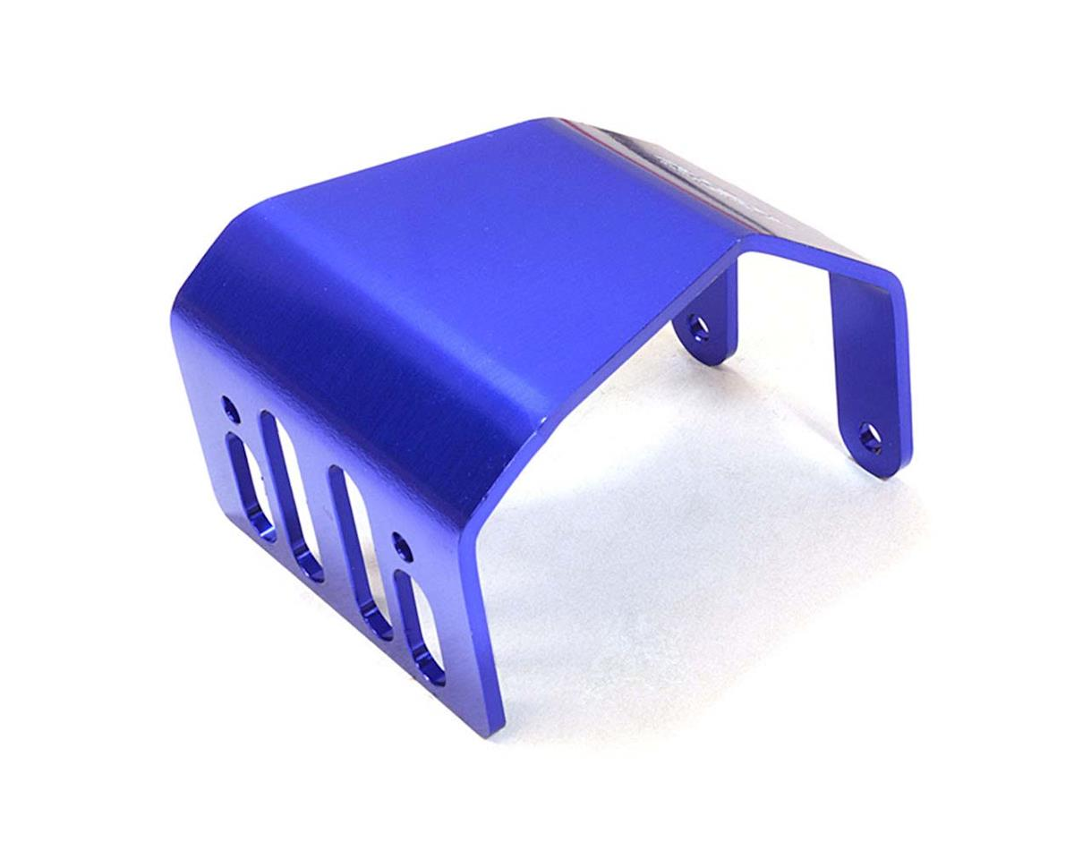 Team Integy C26718BLUE Alloy Skid Plate Assembly 1/10 SCX-10 Off-Rd
