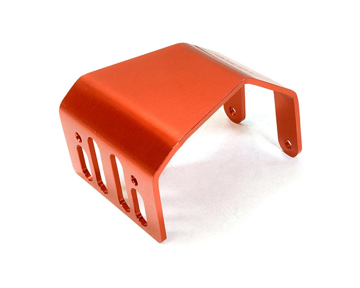 Team Integy C26718RED Alloy Skid Plate Assembly 1/10 SCX-10 Off-Rd